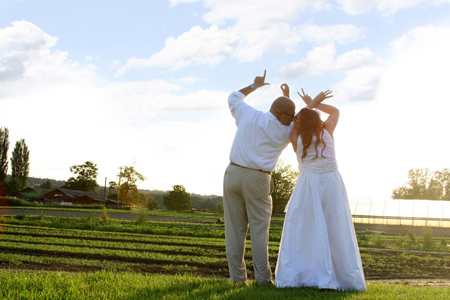 Sign up for the 2013 Wedding season at The Fields